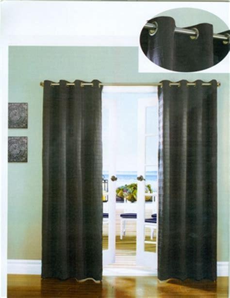 curtain channel channel seersucker grommet curtain panel habitat