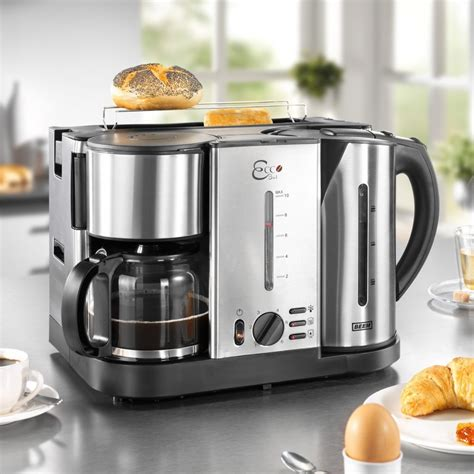 Coffee Maker Toaster Beem D1000641 Ecco 3 In 1 Toaster Coffee Maker Kettle