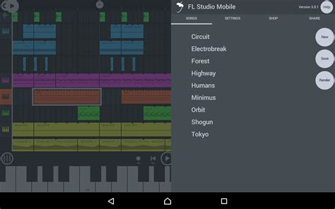 fl studio mobile apk free fl studio mobile apk free data obb v3 2 0 by imageline