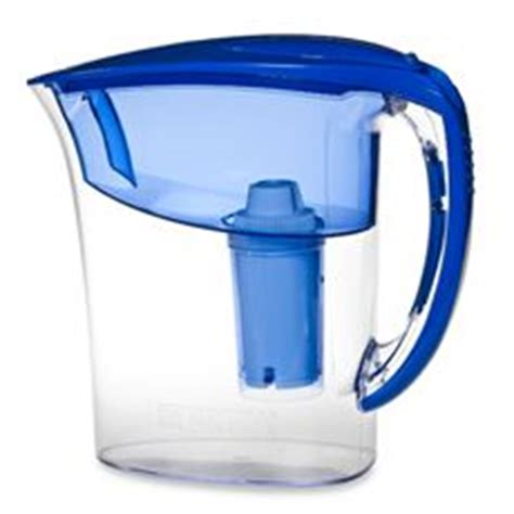 brita bed bath and beyond brita 174 atlantis blue 6 cup water filter pitcher bed bath