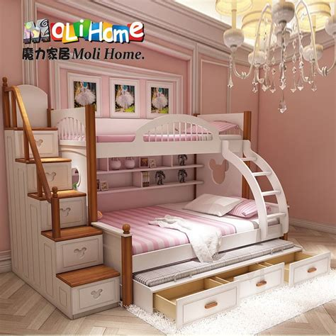 american mediterranean bed bunk bed mother  boy child