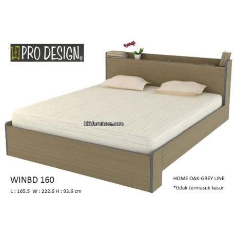 Ranjang Pro Design winbd 160 ranjang minimalis pro design