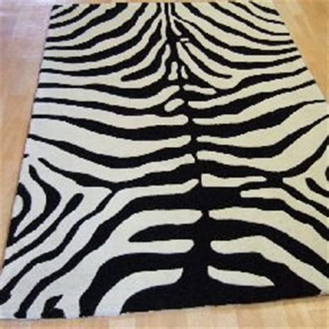 wool zebra rug masai rugs mas02 wool zebra animal print co uk kitchen home