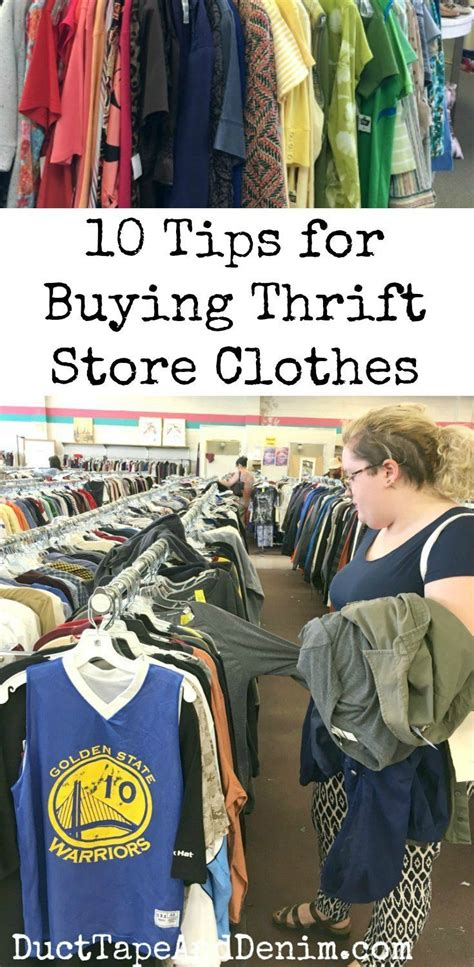 7 Tips For Thrift Shopping by 10 Things You Should Before Buying Thrift Store