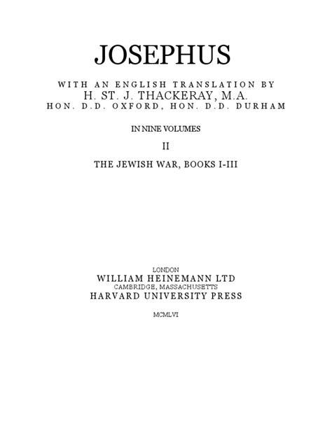 Josephus 2 | Josephus | Thucydides