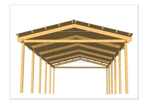 progetto tettoia in legno progetti strutture in legno coperture in legno in