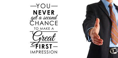 7 Ways To Make A Impression At An by 187 You Just One Chance To Make A Great Digital