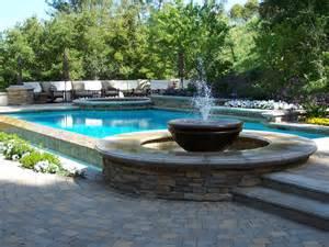 swimming pool features outdoor spaces patio ideas decks gardens hgtv