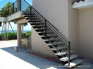 Aluminium Handrails For Stairs by Wrought Iron Stair Railing
