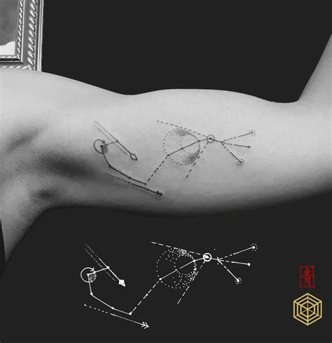 scorpio constellation tattoo best 25 scorpio constellation tattoos ideas on