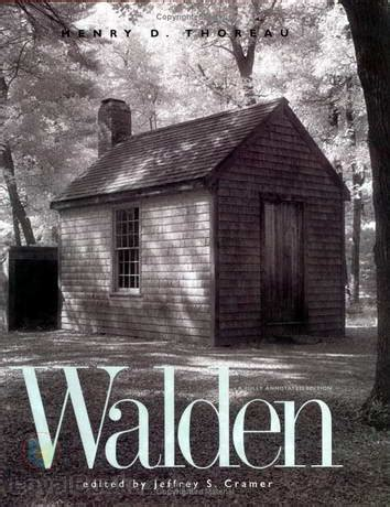 walden book cover poster walden by henry david thoreau free at loyal books