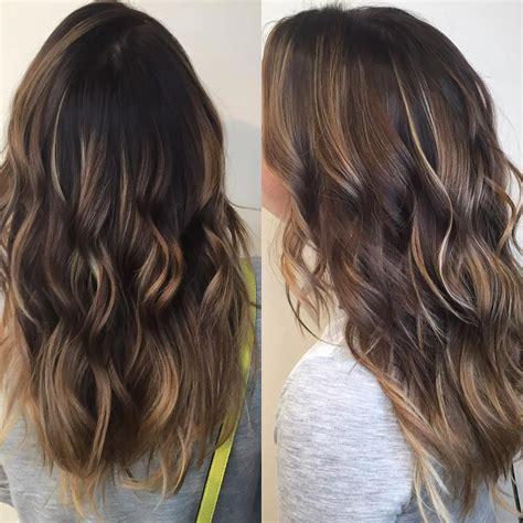 ecaille hair brunette ecaille tortoise shell hair balayage haircolor