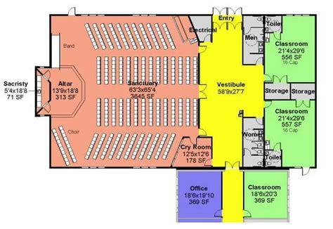 Catholic Church Floor Plans by Church Floor Plans