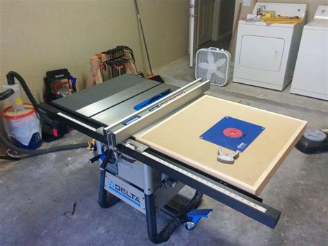 Delta Router Table delta router table extension by ilyac lumberjocks woodworking community