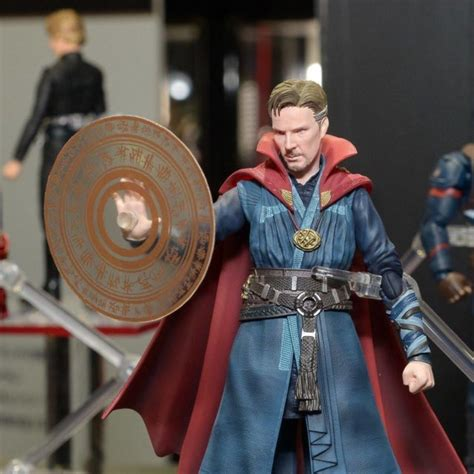 Shf Dr Strange Shfiguarts Doctor Effect Dr Dr Marvel sh figuarts doctor strange iron 1 more revealed