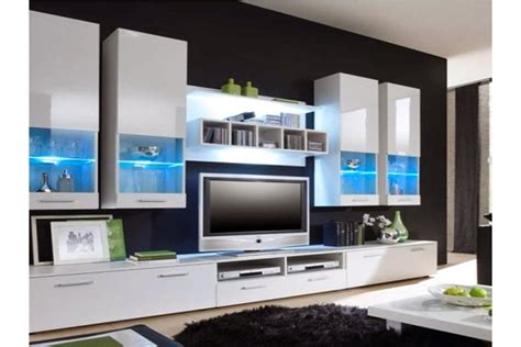 Nice Tete De Lit Led #11: Meuble-tv-design-mural-raken.jpg