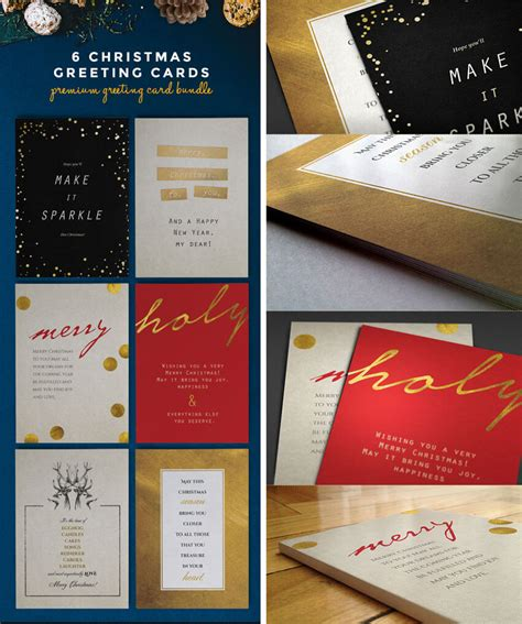 Festive Cards Templates by 50 Stylish Festive Greetings Card Templates