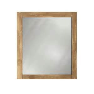 lowes mirrors bathroom shop style selections beckfield 24 in h x 20 in w washed