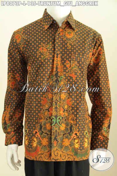 Kemeja Yang Bagus kemeja lengan panjang batik printing bagus harga 100