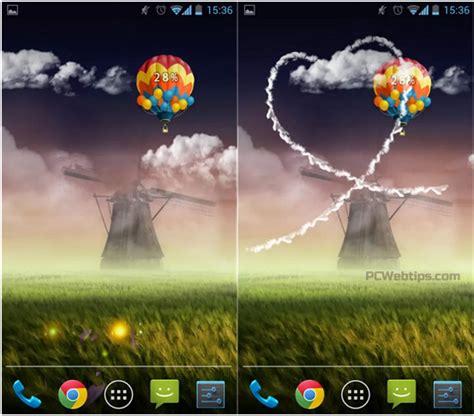 imagenes que se mueven en la pantalla 12 live wallpapers para android dale vida a tu pantalla