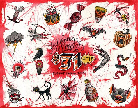 friday the 13th flash sheet 2016 red tattoo
