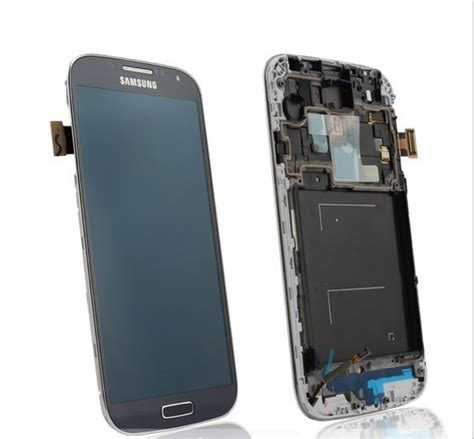 Lcd Samsung S4 lcd display touch screen frame samsung galaxy s4 i9500