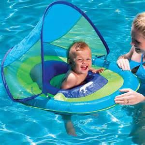 Backyard Water Slides Swimways Baby Spring Float With Canopy Toysplash Com