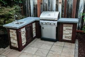 how to build your own outdoor kitchen for a fraction of