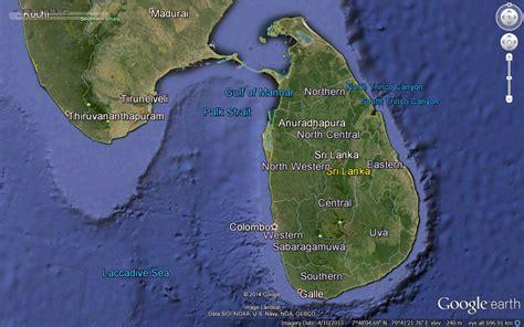 earth map sri lanka bruce wedderburn s trip reports sri lanka february 2014
