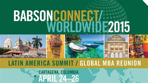 Babson Sustainability Mba by 2015 Babson Connect Worldwide Colombia News Events