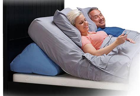 adjustable bed wedge sharper image