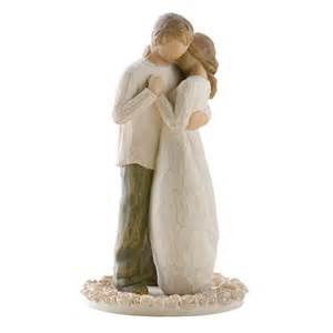 willow tree wedding cake topper willow tree promise cake topper figurine 26189 hold dear the promise of all figurines