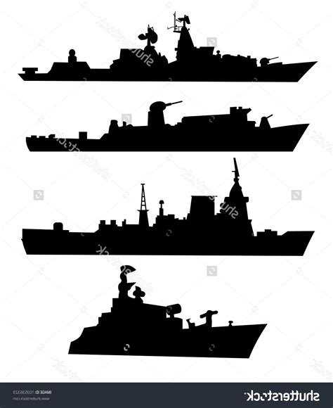 military pattern cdr best free battleship clipart silhouette cdr