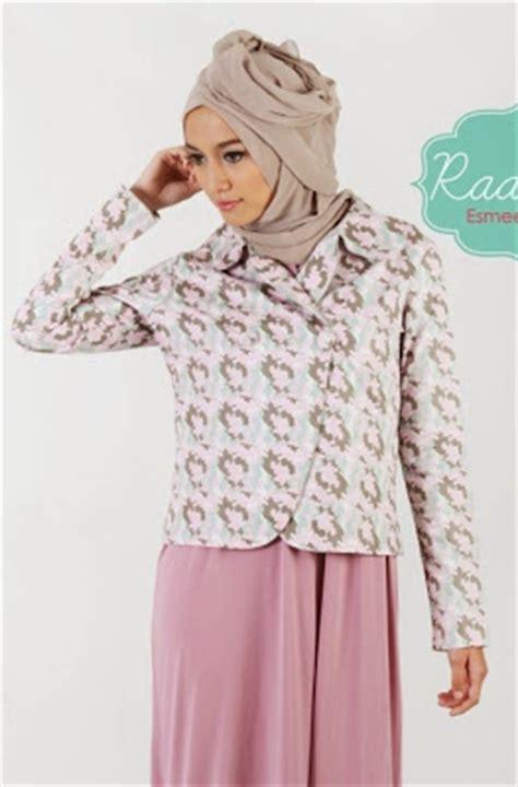 Jaket Blazer Believe Bjm 03 Jaket Blazer Muslimah Kerja koleksi model blazer wanita muslimah terbaru 2015