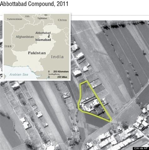 bin laden abbottabad google earth osama bin laden s alleged abbottabad compound hits google