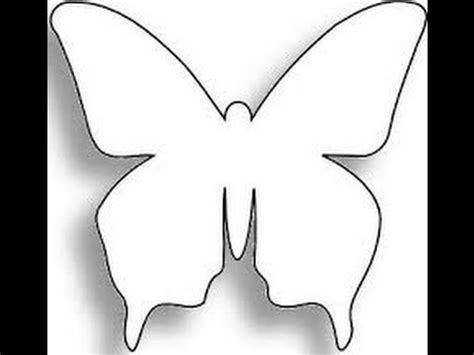 molde gratis de mariposa para imprimir descargar patrones para crear mariposas youtube