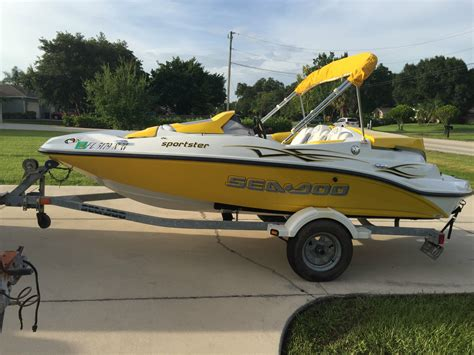 sea doo jet boat repair sea doo sportster boat for sale from usa