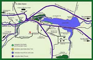 lake estes trail map