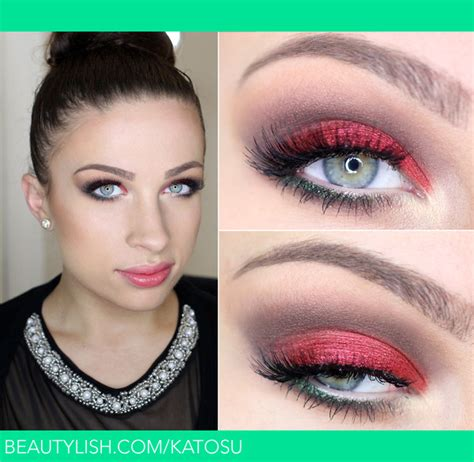 christmas make up catherine g s katosu photo beautylish