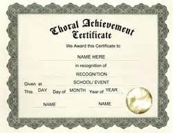choir certificate template attendance certificate template word new