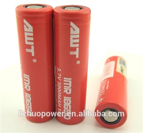 Diskon Baterai Vapor Awt 3000 Mah 18650 For E Cigarette Box Mods awt 18650 3000mah 40a 3 7v rechargeable lithium iron phosphate vapor batteries for tank vapor
