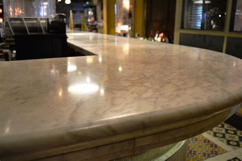 Marble Bar Top by Dull Marble Bar Top Rejuvenated At Manchester Club Derbyshire Tile Doctor
