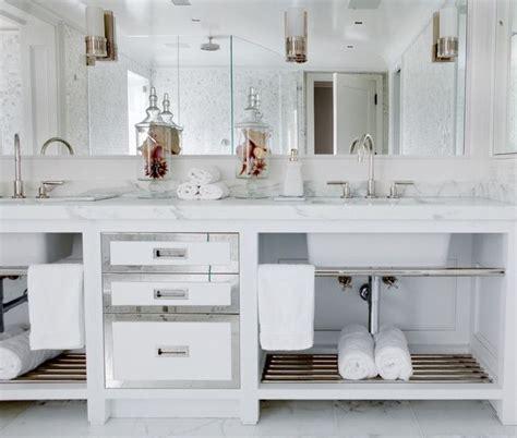 Spa Bathroom Vanity by Spa Like Bathroom With Custom Vanity And Built In Mirror