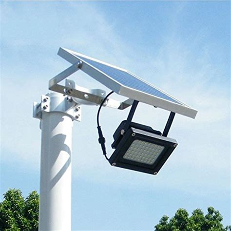 Solar Lights For Garage Solar Powered Floodlight Spotlight Outdoor Waterproof