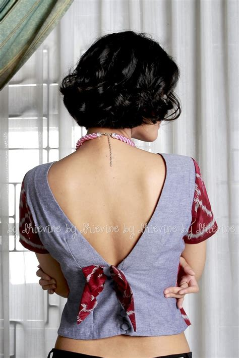 Blouse Jumputan 454 best dhievine images on blouses ikat and indonesia