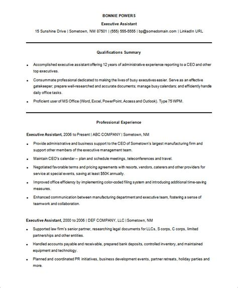 Successful Resume Templates by A Successful Resume Template Open Office For Seeker