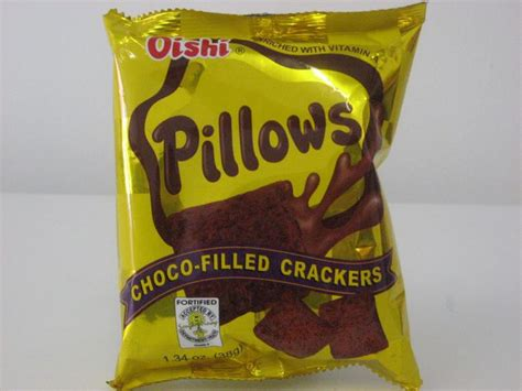Oishi Pillows by Snacks Biscuits Grocers Ltd