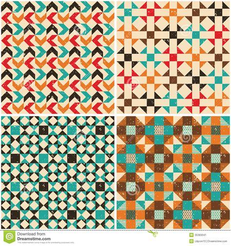 Free Interior Design Books set retro seamless geometric patterns stock image image
