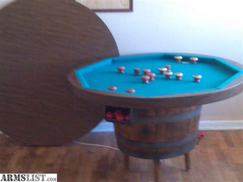 poker table with chairs for sale armslist for sale whiskey barrel furniture poker