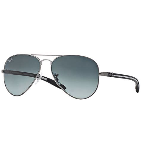 Tm Ban ban aviator carbon fibre sunglasses matte gunmetal